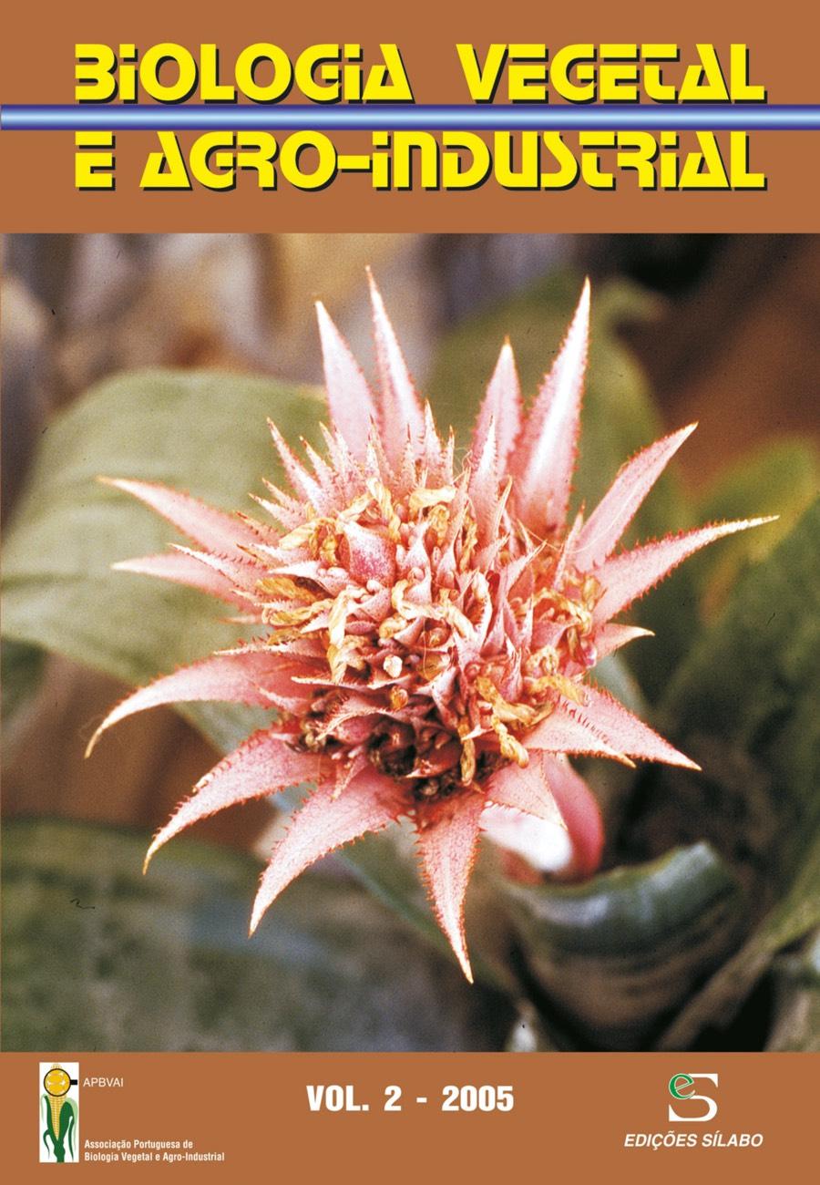 Biologia Vegetal e Agro-Industrial – Vol. 2/2005. Um livro sobre Ciências da Vida, Ciências Sociais e Humanas, de Edições Sílabo.