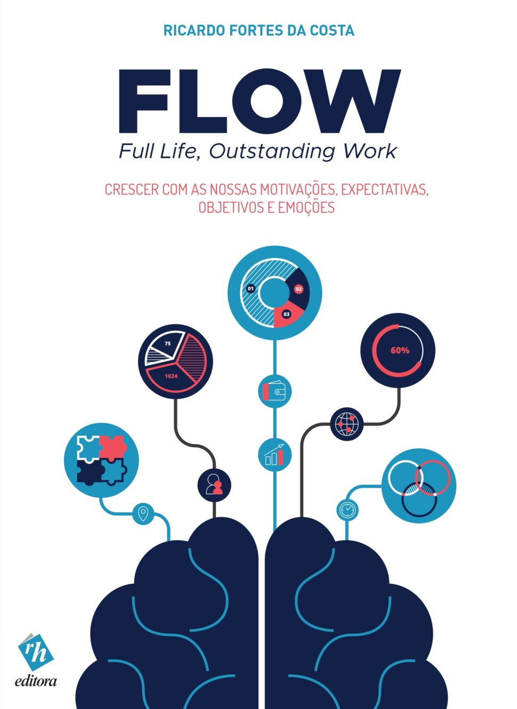 FLOW – Full Life, Outstanding Work – Crescer com as Nossas Motivações, Expectativas, Objetivos e Emoções. Um livro sobre Recursos Humanos de Ricardo Fortes da Costa, da Editora RH.