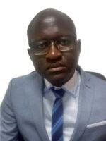Aliu Soares Cassamá. Autor do livro Banca na Guiné-Bissau, das Edições Sílabo.