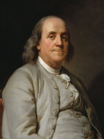 Benjamin Franklin. Autor do livro Benjamin Franklin, das Edições Sílabo.