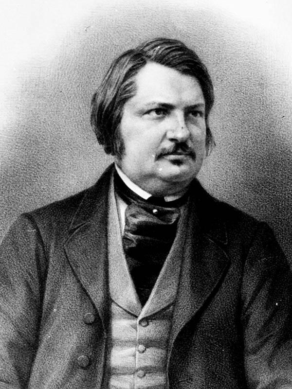 H. de Balzac. Autor do livro Máximas e Pensamentos de Napoleão, das Edições Sílabo.