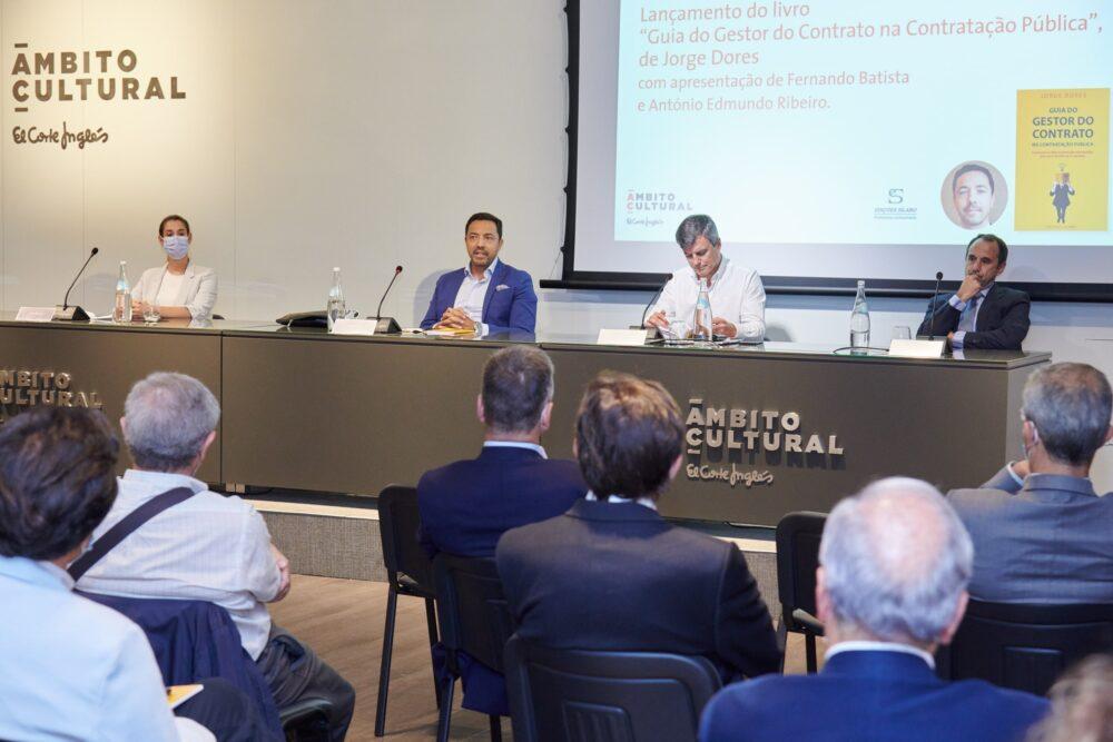 Fernando Batista, António Edmundo Ribeiro, Jorge Dores, Gestor do contrato na contratação pública
