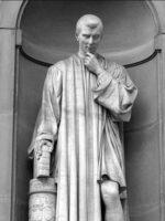 Nicolau Maquiavel. Autor dos livros Discursos sobre a primeira década de Tito Lívio, A Arte da Guerra, O Príncipe, das Edições Sílabo.