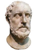 Tucídides. Autor do livro História da Guerra do Peloponeso, das Edições Sílabo.
